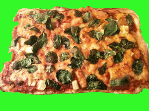 Pizza Pizza Pizza Neckid Organic Pizza - Pizza Pizza Lovers