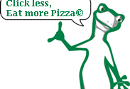 KiiWii says: Click less, Eat more Pizza. © 1-Pizza - Pizza Domain name for sale - 1-Pizza